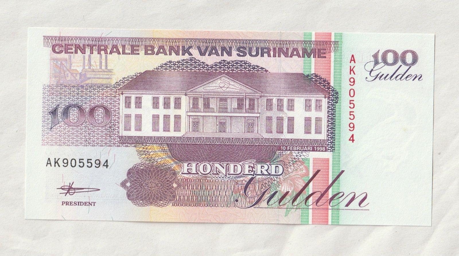 100 Gulden, 1998, Surinam