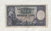 100 Litu, 1928, Litva