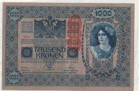 1000 Korun, 1902/64191, PŘETISK Rakousko