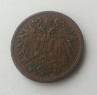 2 Haléř, 1901, Rakousko