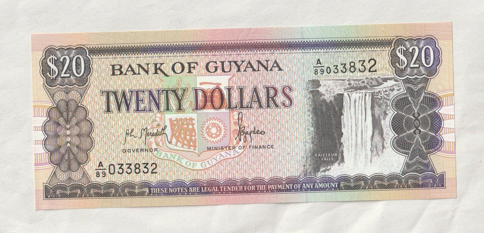 20 Dollar, loď, Guyana