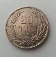 20 Filler, 1914, Uhry, STAV!