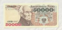 50000 Zlotý, 1993, Polsko