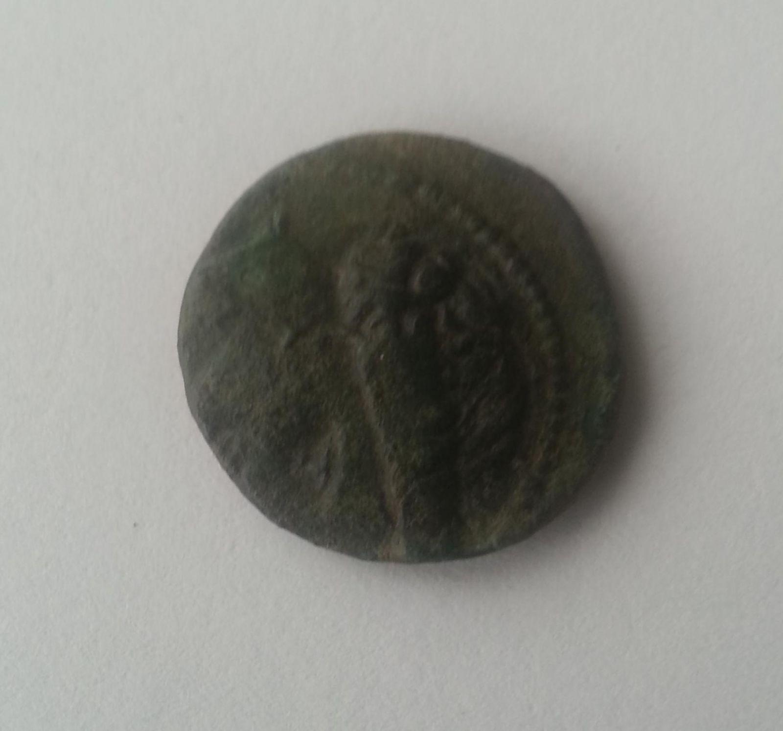 AE-17, hlava Nymfy/kůň, 360-325,S:2129 var., Řecko-Larissa