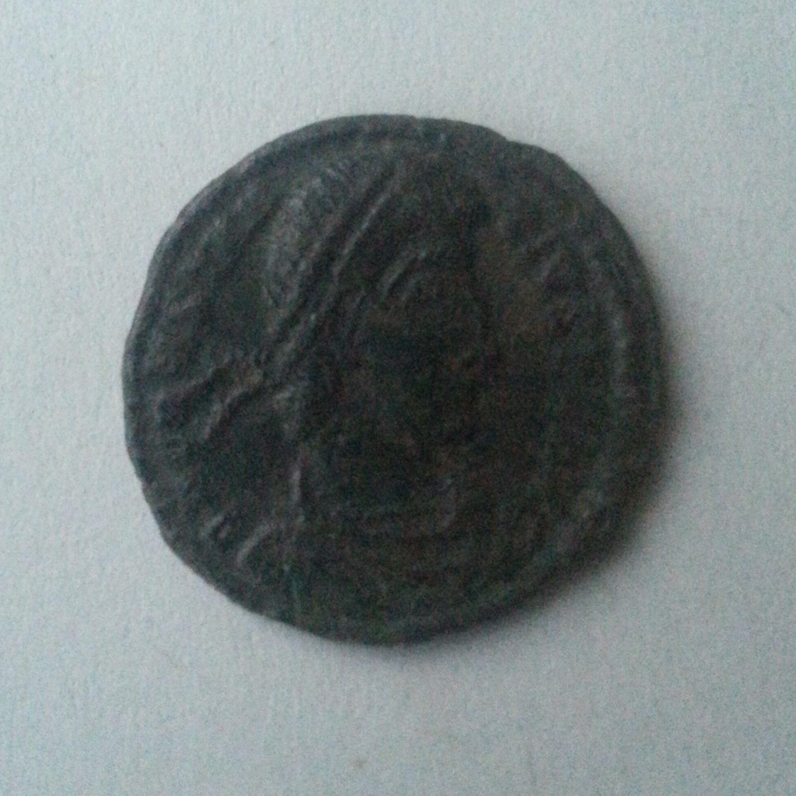 AE-3, voják pohání jezdce, Constantinus II. jako Augustus, 337-61, S:3910, Rím-císařství