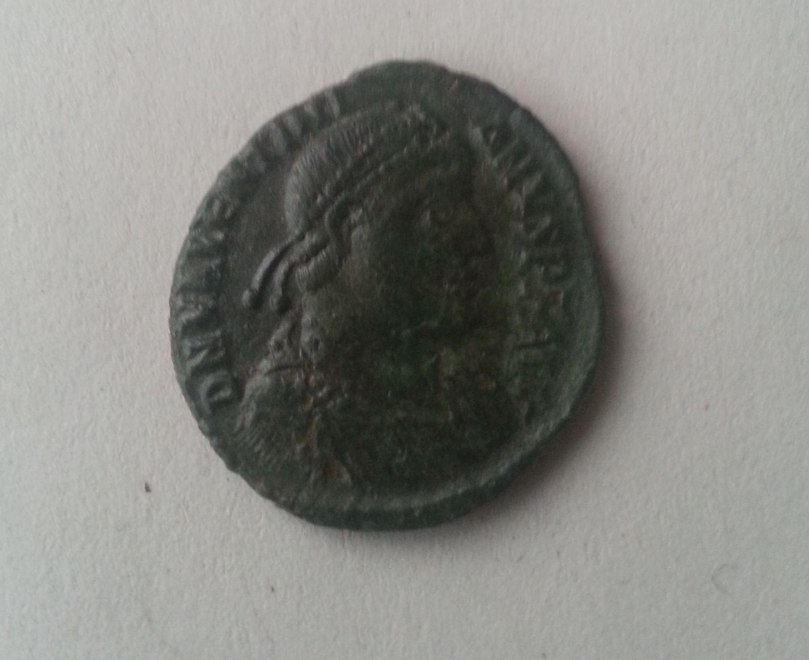Centenionalis, Viktorie na globu, Valentinianus I., Mincovna Cysicus, 364-75, S:19481, Řím-císařství
