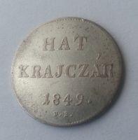 Hat Krejcar, 1849, N.B., Uhry