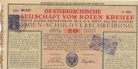 Los Červeného kříže, 1919, Rakousko