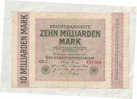 10 mld Marek, 1923, Německo