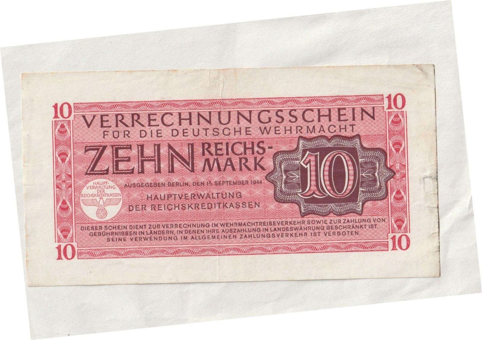 10 ŘM, Wehrmacht, Německo