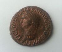 AS - ZNAČENÁ KOPIE, Claudius, 41-54, Řím-císařství