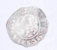 Čechy bílý peníz 1566 Maxmilán