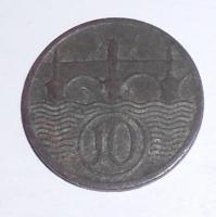 ČSR 10 Haléř 1929