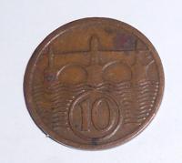 ČSR 10 Haléř 1931