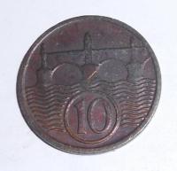 ČSR 10 Haléř 1932 stav