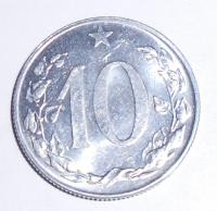 ČSR 10 Haléř 1956