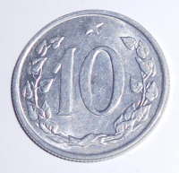 ČSR 10 Haléř 1962 stav