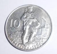ČSR 10 Kč 1954 10 let SNP