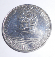 ČSR 10 Kč 1967 Akademia Istropolitana