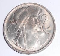 ČSR 2 Kč 1947 stav
