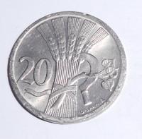 ČSR 20 Haléř 1930 stav