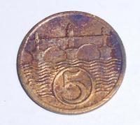 ČSR 5 Haléř 1931