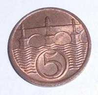 ČSR 5 Haléř 1938