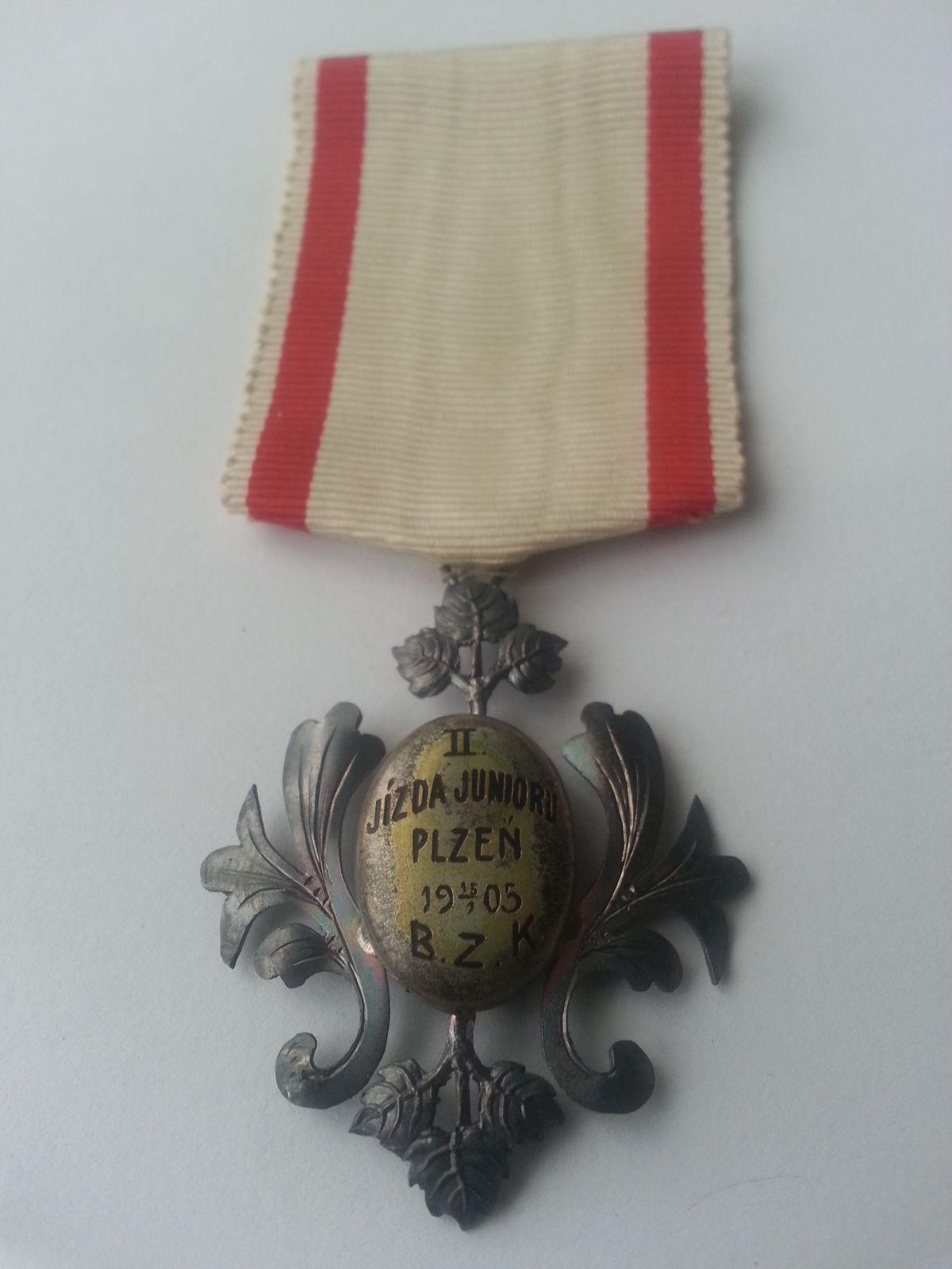 II. jízda juniorů Plzeň, 15.1.1905, Čechy