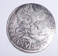 Rakousko-Sv. Vít 15 Krejcar 1695 Leopold I.