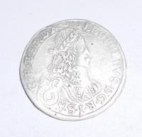 Rakousko-Sv. Vít 6 Krejcar 1672 Leopold I.