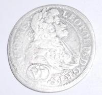 Rakousko-Vídeň 6 Krejcar 1690 Leopold I.