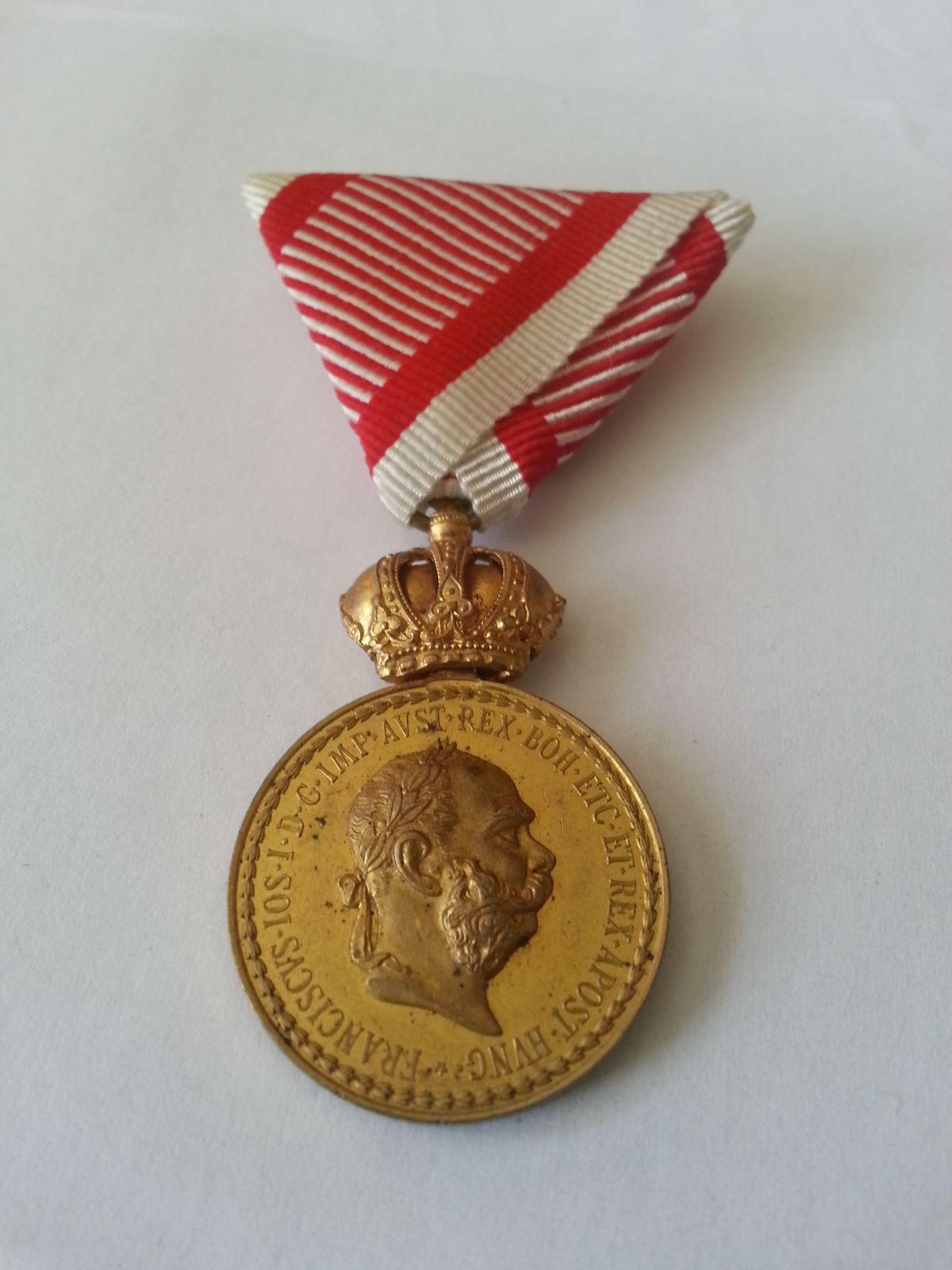 Signum Laudis, - zl.bronz, František Josef I., Rakousko
