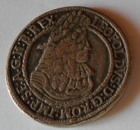 Slezsko-Hall Tolar 1657-1705 Leopold I. kopie 38,11 g