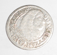 Slezsko-Volava 3 Krejcar 1665 Christian stav