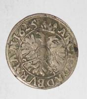 Slezsko Vratislav 1 Krejcar 1625 Ferdinand II.