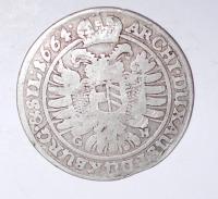 Slezsko-Vratislav 15 Krejcar 1664 Leopold I.