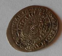 Uhry-Bratislava 3 Krejcar 1697 Leopold I.