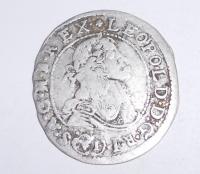 Uhry -KB 6 Krejcar 1681 Leopold I.