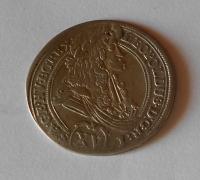 Uhry-Košice 15 Krejcar 1696 Leopold I. vada střížku