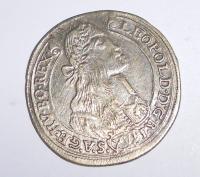 Uhry-Kremica XV. Krejcar 1674 Leopold I.