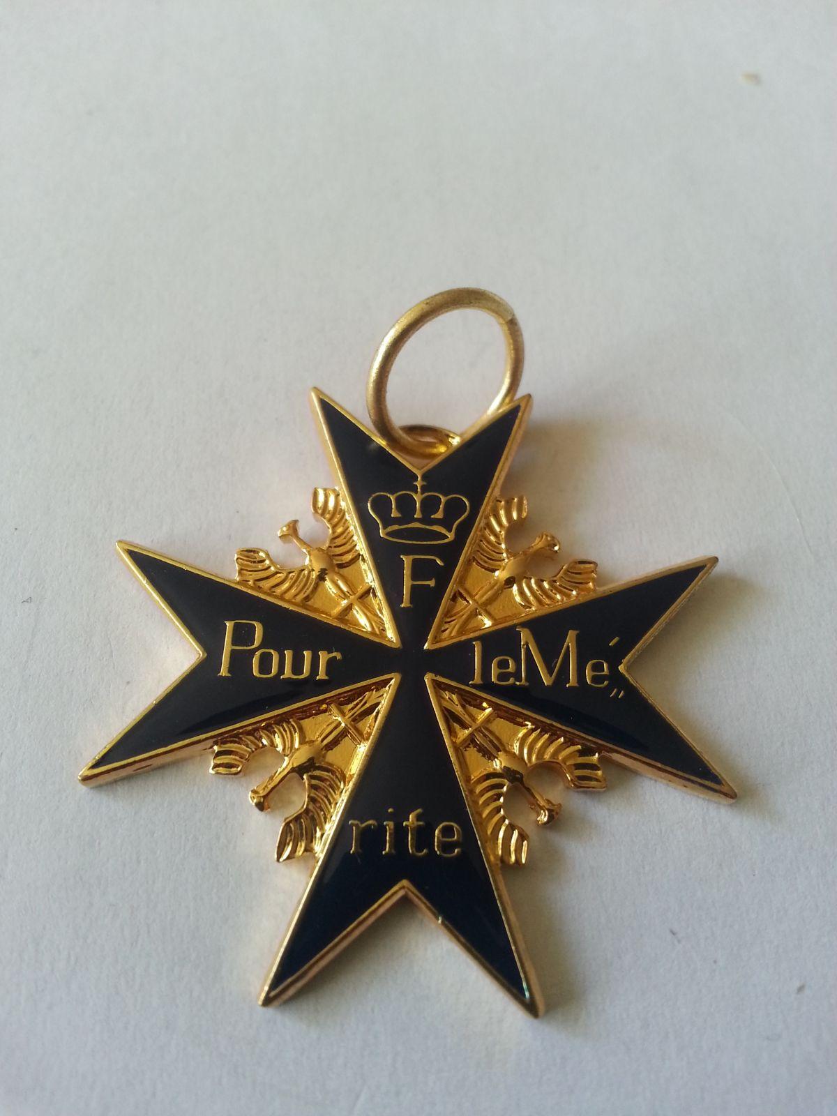 vyznamenání Pourle Merite, Německo KOPIE