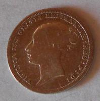 Anglie 6 Pence 1886 Viktorie
