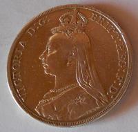 Anglie Crowen 1889 Viktorie
