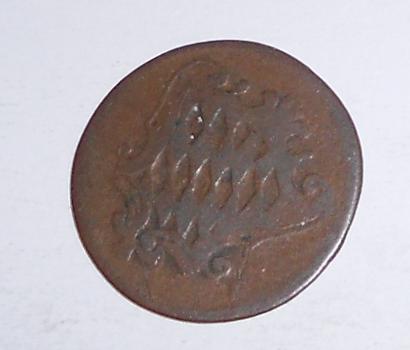 Bavorsko 1 Pfenik 1797