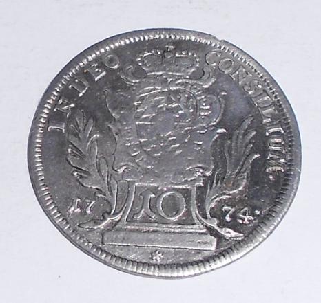 Bavorsko 10 Krejcar 1774 Maxmil Jos.