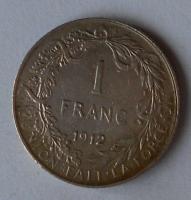 Belgie 1 Frank 1912