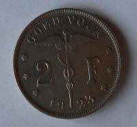 Belgie 2 Frank 1923