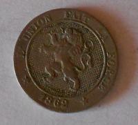 Belgie 5 Centesimi 1862