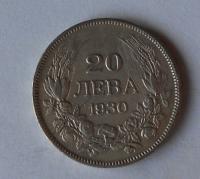 Bulharsko 20 Leva 1930