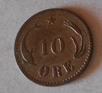 Dánsko 1 Öre 1875